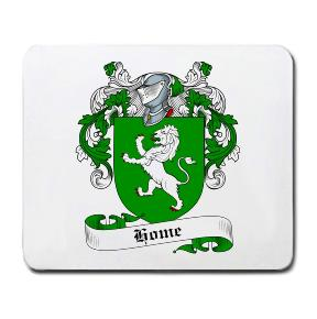 Home Coat of Arms Mouse Pad