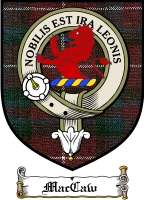Maccaw Clan Badge / Tartan FREE preview