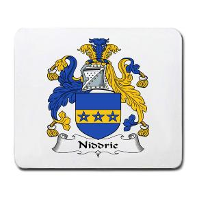 Niddrie Coat of Arms Mouse Pad