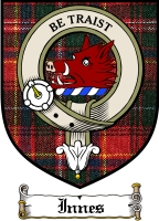 Innes Clan Badge / Tartan FREE preview