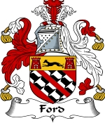Ford Family Crest / Ford Coat of Arms JPG Download