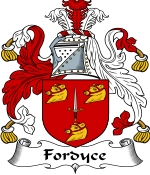 Fordyce Family Crest / Fordyce Coat of Arms JPG Download