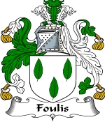 Foulis Family Crest / Foulis Coat of Arms JPG Download
