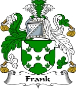 Frank Family Crest / Frank Coat of Arms JPG Download