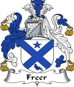 Freer Family Crest / Freer Coat of Arms JPG Download