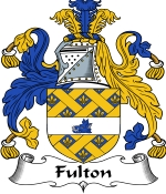 Fulton Family Crest / Fulton Coat of Arms JPG Download