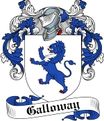 Galloway Family Crest / Galloway Coat of Arms JPG Download