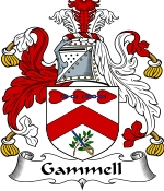 Gammell Family Crest / Gammell Coat of Arms JPG Download