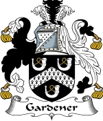 Gardener Family Crest / Gardener Coat of Arms JPG Download