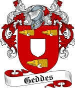Geddes Family Crest / Geddes Coat of Arms JPG Download