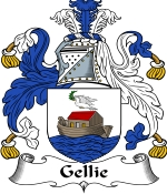 Gellie Family Crest / Gellie Coat of Arms JPG Download