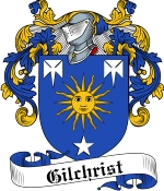 Gilchrist Family Crest / Gilchrist Coat of Arms JPG Download