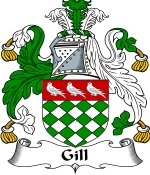 Gill Family Crest / Gill Coat of Arms JPG Download