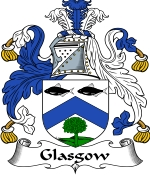 Glasgow Family Crest / Glasgow Coat of Arms JPG Download