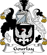 Gourlay Family Crest / Gourlay Coat of Arms JPG Download