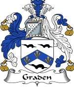 Graden Family Crest / Graden Coat of Arms JPG Download