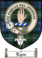 Lyon Clan Badge / Tartan FREE preview