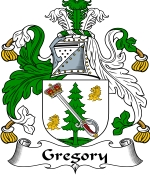 Gregory Family Crest / Gregory Coat of Arms JPG Download