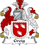 Greig Family Crest / Greig Coat of Arms JPG Download