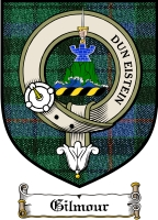 Gilmour Clan Badge / Tartan FREE preview