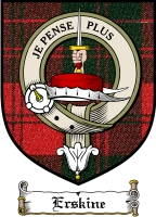 Erskine Clan Badge / Tartan FREE preview