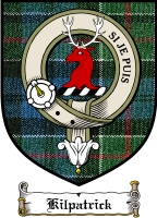 Kilpatrick Clan Badge / Tartan FREE preview