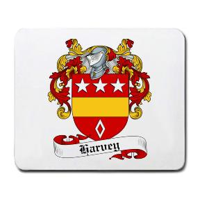 Harvey Coat of Arms Mouse Pad