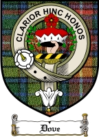 Dove Clan Badge / Tartan FREE preview