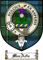 Macadie Clan Munro Clan Badge / Tartan FREE preview