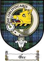Orr Clan Macgregor Clan Badge / Tartan FREE preview