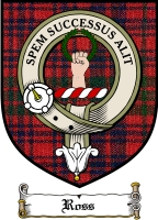 Ross Clan Rose Clan Badge / Tartan FREE preview