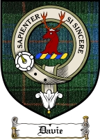 Davie Clan Badge / Tartan FREE preview