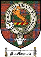 Maccombie Clan Macthomas Clan Badge / Tartan FREE preview