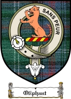 Oliphant Clan Badge / Tartan FREE preview