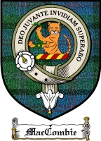 Maccombie Clan Stewart Appin Clan Badge / Tartan FREE preview