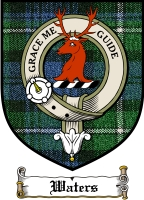 Waters Clan Badge / Tartan FREE preview