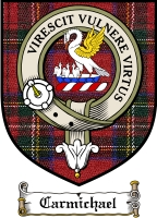 Carmichael Clan Badge / Tartan FREE preview