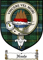 Neale Clan Badge / Tartan FREE preview