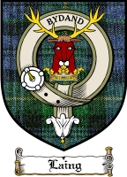 Laing Clan Macdonald Clan Badge / Tartan FREE preview