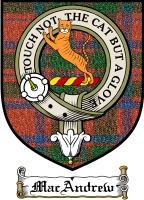 Macandrew Clan Ross Clan Badge / Tartan FREE preview