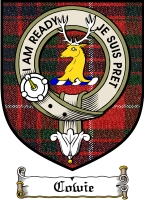 Cowie Clan Badge / Tartan FREE preview