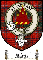 Suttie Clan Badge / Tartan FREE preview
