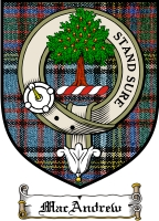 Macandrew Clan Mackintosh Clan Badge / Tartan FREE preview