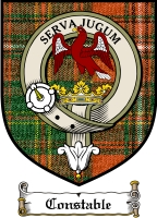 Constable Clan Badge / Tartan FREE preview