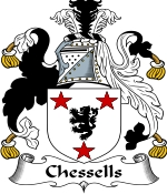Chessells Family Crest / Chessells Coat of Arms JPG Download