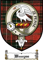 Wemyss Clan Badge / Tartan FREE preview