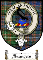 Saunders Clan Badge / Tartan FREE preview