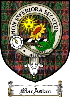 Macaslan Clan Badge / Tartan FREE preview