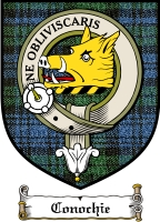 Conochie Clan Robertson Clan Badge / Tartan FREE preview