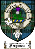 Ferguson Clan Badge / Tartan FREE preview